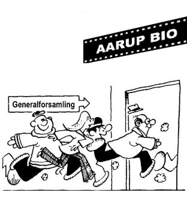 Generalforsamling i Biografforeningen @ Industrien
