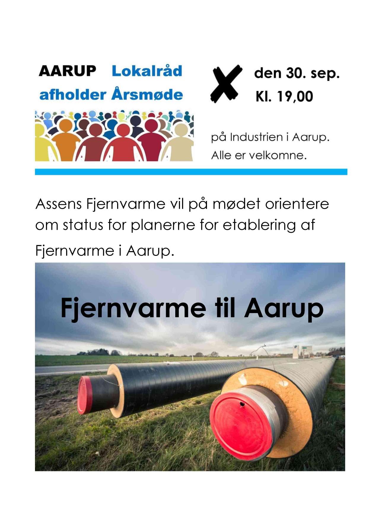 Årsmøde - Aarup Lokalråd @ Industrien